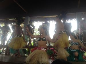 Young dancer in Tonga